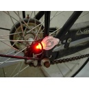 Super Bright Multi-function LED Keychain/Bike light  (Hong Kong)