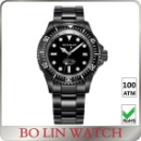 Diving Watch DLC Plating Black (China)